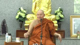 """Q&A with Luangpor Pramote"" dhamma talk"