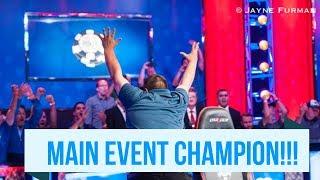 Scott Blumstein Wins 2017 WSOP Main Event!!!