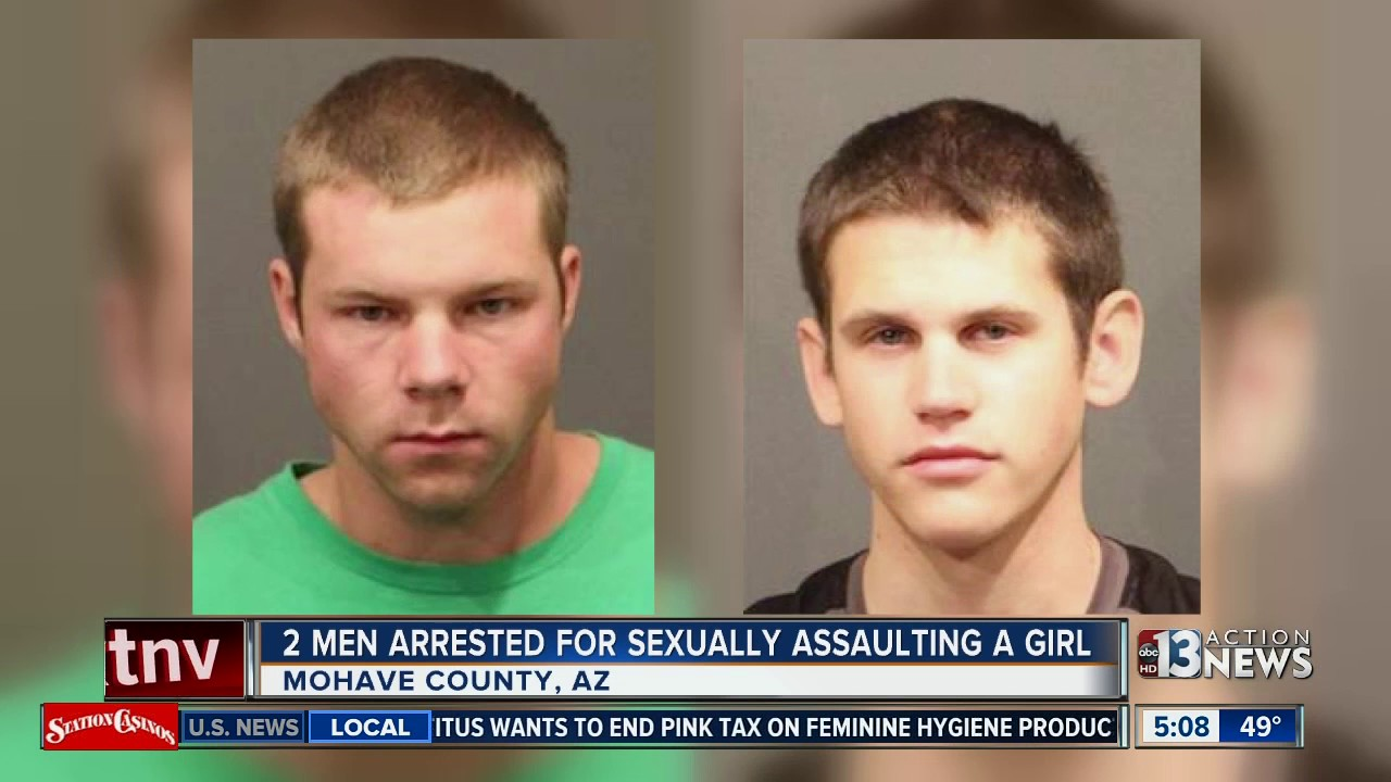 2 Arizona men arrested for sexual assault of 13-year-old girl