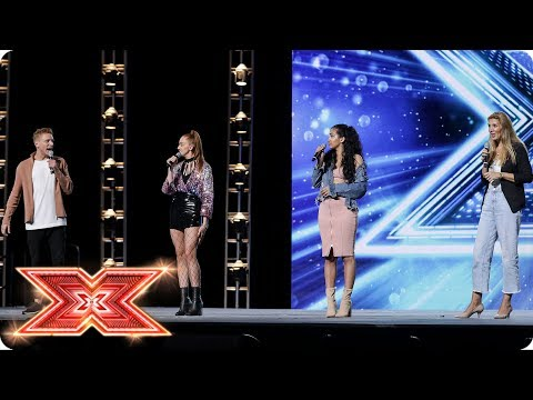 Can Aidan, Jodie, Liaa and Caroline make sweet music together?   Boot Camp   The X Factor 2017