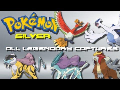 Pokemon Silver: ALL Legendary Pokemon Locations