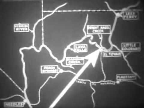 1923 Birdseye Survey of the Grand Canyon and Colorado River