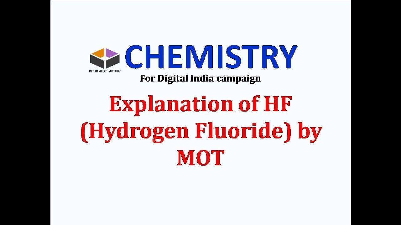 Hydrogen fluoride molecule hf molecule energy level diagram in hydrogen fluoride molecule hf molecule energy level diagram in hindifor digital india campaign ccuart Image collections