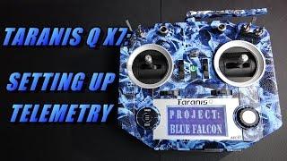 taranisi q x7 setting up telemetry