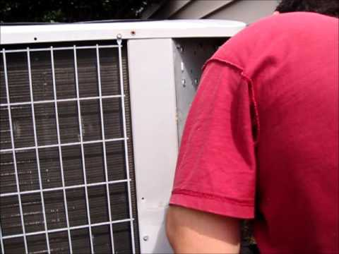 How to replace Condenser/Compressor contactor for Carrier AC unit.