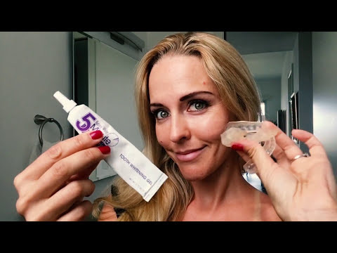 VLOG 32 - How To Get White Teeth With Home Bleaching - Brianna Vlogs