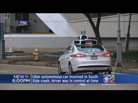 Self-Driving Uber Vehicle Involved In South Side Crash