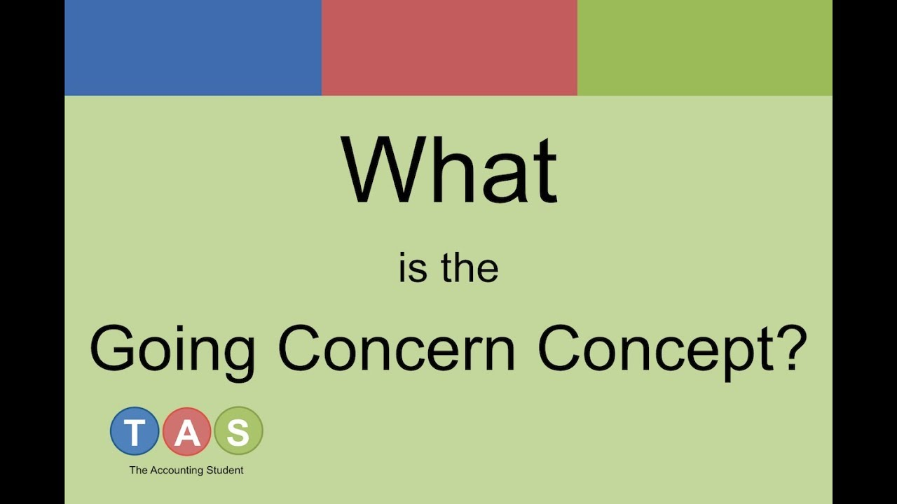 going concerning Going concern value is the value of a company under the assumption that it will continue to operate for the foreseeable future this is in contrast to liquidation value, which assumes the company is going out of business.