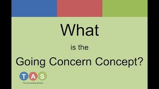 What is the Going Concern Concept?