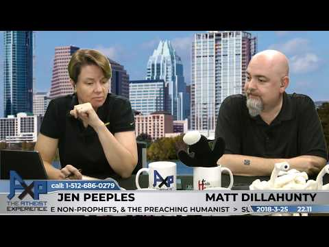 Atheist Experience 22.11 with Matt Dillahunty and Jen Peeples