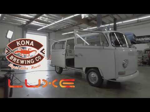Kona Beer and Luxe 1969 VW Beer Bus.