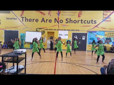 2017 5th grade African Dance