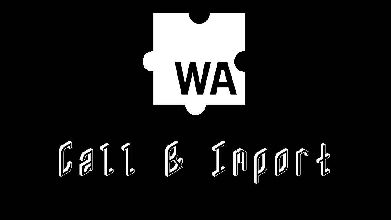 Calling and Importing Functions - WebAssembly