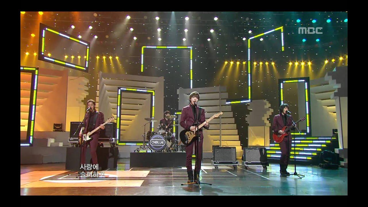 Download CNBLUE - I'm a loner(burning ver.), 씨엔블루 - 외톨이야, Music Core 20100227