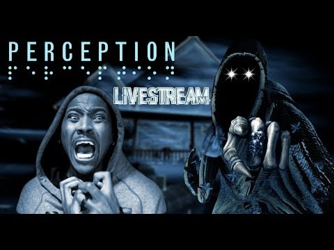 SOMETHING/SOMEONE IS IN HERE WITH ME ||  PERCEPTION Horror Game ENDING!!