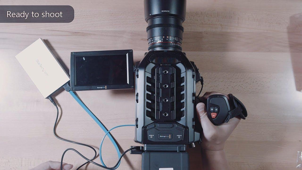 CFAST eSATA DATA Breakout Cable for Blackmagic Ursa//Ursa mini//Ursa Pro.