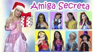 Amigo Secreto das Princesas Disney