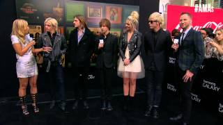 r5 red carpet interview amas 2014
