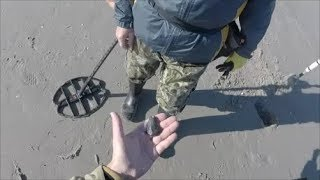 Metal Detecting Myrtle Beach SC in Winter