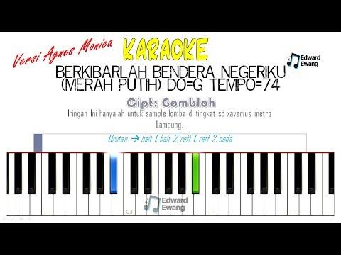Karaoke Merah Putih (Berkibarlah Bendera Negeriku) Versi Agnes Monica