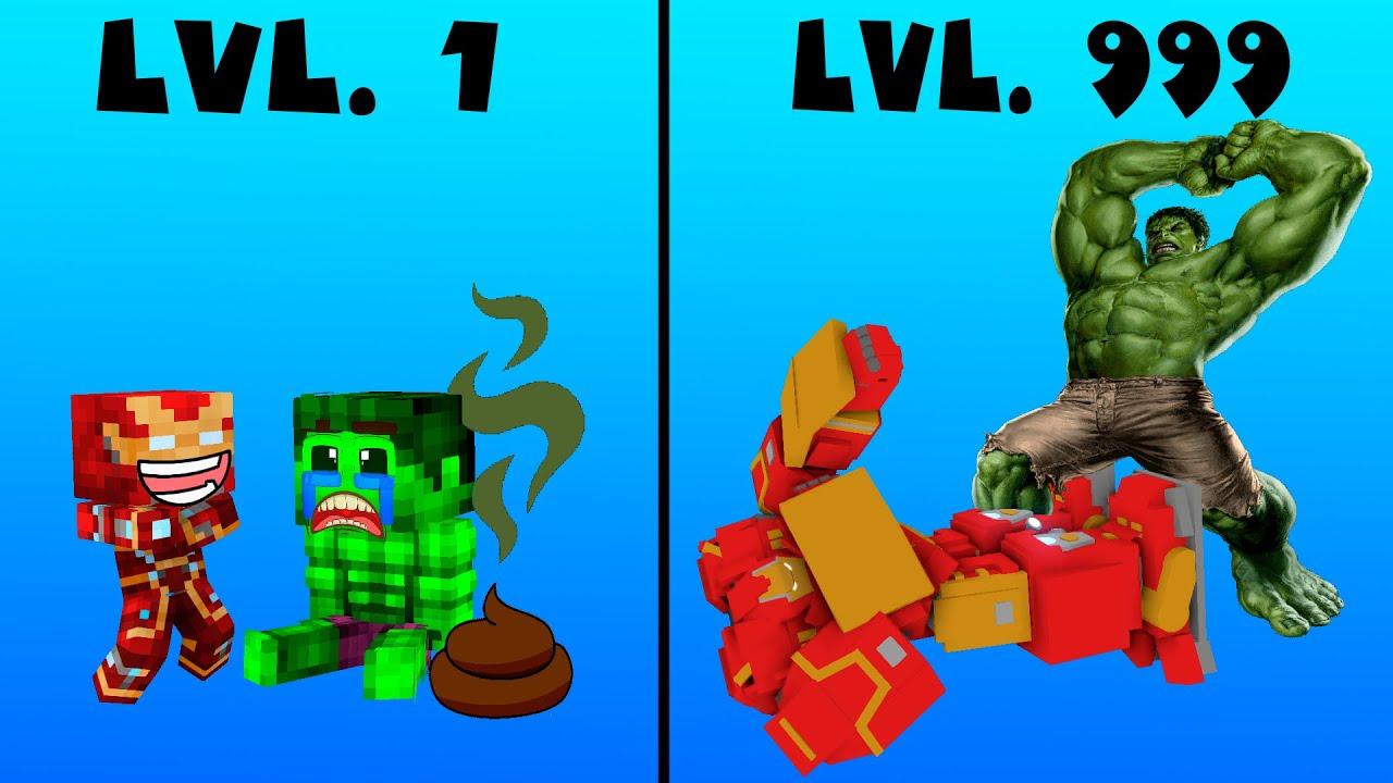 Monster School : CROOK VS BOSS IRONMAN VS HULK Part 1 2