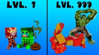 Monster School CROOK VS BOSS  RONMAN VS HULK Part 1 2
