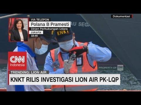 KNKT Rilis Hasil Investigasi Lion Air PK-LQP, Ini Kata Dirjen Perhubungan