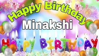 #HappybirthdayMinakshi#मिनाक्षी# Happy Birthday Minakshi ...WhatsApp status song...
