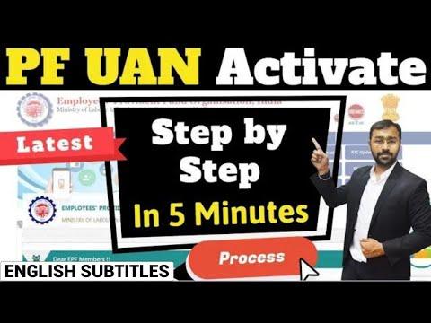 New UAN activation online process [100% working] | Activate UAN number