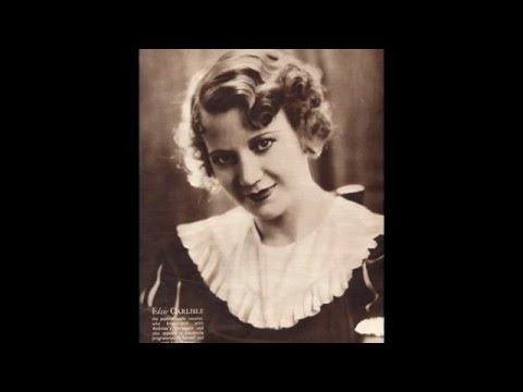 "Elsie Carlisle - ""The Show Is Over"" (1934)"