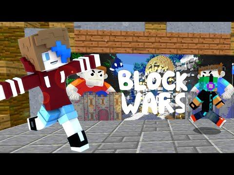 MINECRAFT BLOCK WARS | INTENSE FOR DAYZ! | GAMER CHAD & RADIOJH GAMES