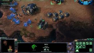 StarCraft II Wings of Liberty PC Gameplay Ultra High Settings 720p HD