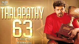 Thalapathy 63 is a SPORTS Film?