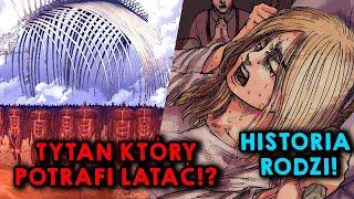 CZY TYTAN FALCO POTRAFI LATAĆ? 🤔 CZY ARMIN ZABIJE  ERENA?🔪 HISTORIA RODZI! - Attack on titan 133x134