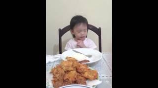 Sienna FC - Pray before eat (doa sebelum makan) kristen