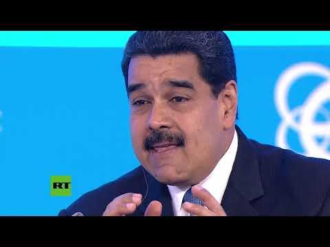 """Maduro en Rusia: """"Venezuela es objeto de una guerra comunicacional. Quieren aislarnos"""""""