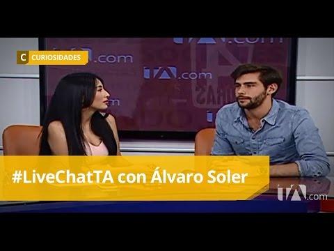 #LiveCHatTA con Álvaro Soler - Teleamazonas