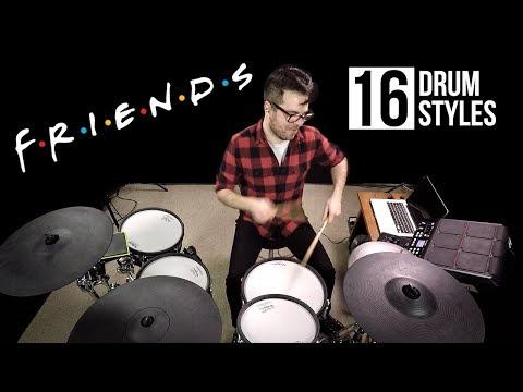 Vadrum Meets Friends (in 16 Drum Styles)