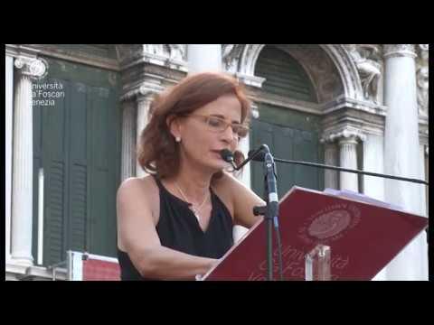 Giorno della Laurea  Venezia luglio 2013  Margaret Mazzantini