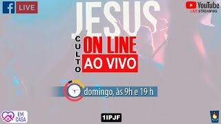 ((( CULTO AO VIVO - DOMINGO MANHÃ - 26/07/2020 )))