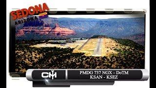 [P3D V4.1] PMDG 737 NGX | DoTM | KSAN to KSEZ