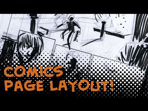 How to layout your comic book pages - Comics For Beginners episode 3