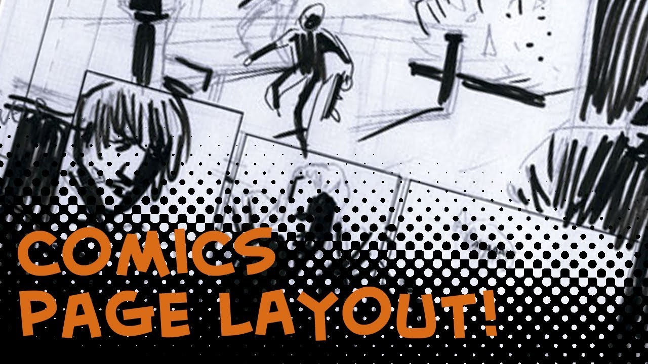 How to layout your comic book pages - Comics For Beginners episode ...