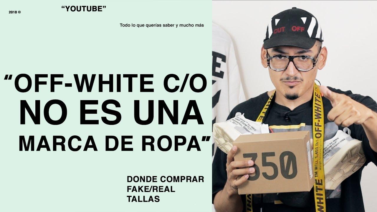 7bb75cd0d OFF WHITE NO ES UNA MARCA DE ROPA!!