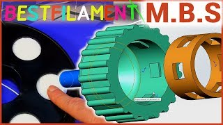 Пластик для 3D ПРИНТЕРА ГИБКИЙ РЕЗИНОВЫЙ BESTFILAMENT BFLEX