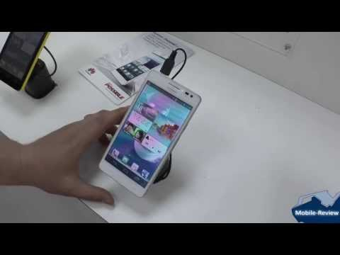 Знакомство с Huawei Ascend D2