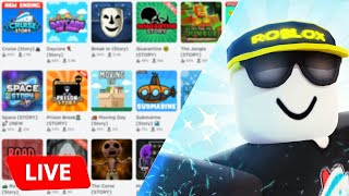 NEW GAME REVEALED! PLAYING GAMES - ROBLOX