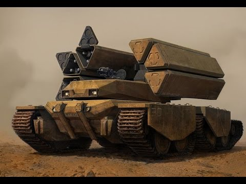 Future Military Tanks Firepower:Future Armor...