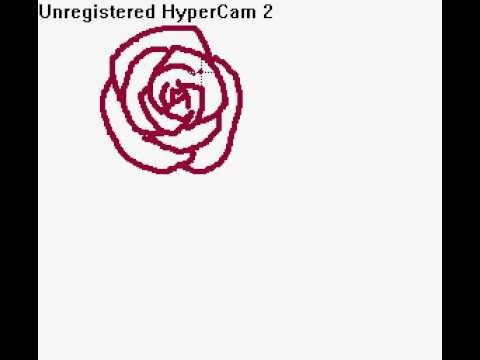 how to draw a rose xd youtube. Black Bedroom Furniture Sets. Home Design Ideas