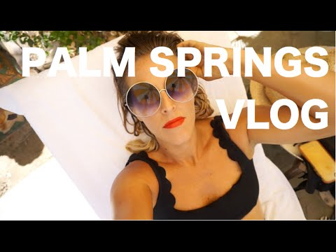 THRIFT SHOPPING IN PALM SPRINGS// TRAVEL VLOG